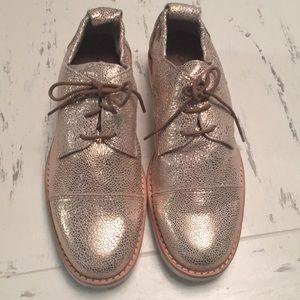 Arche France Danara ~ Quartz Leather Oxford Shoes